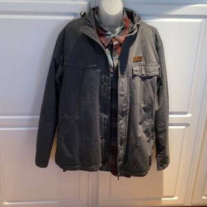 EUC Mens Columbia Shirt jacket. Size L.